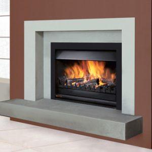 gas log fireplace cleaning